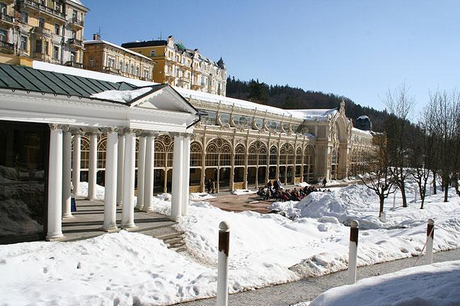 Mariánské Lázně - zima